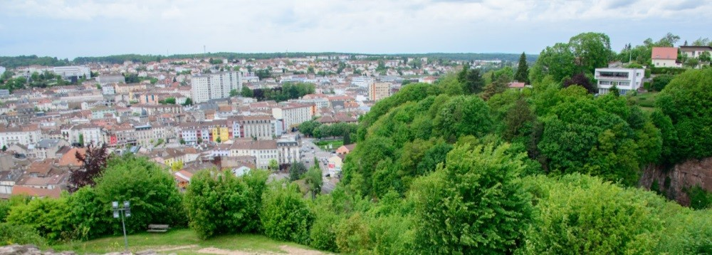 Epinal, view of the city