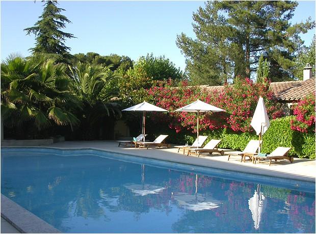 piscina Magnaneraie Hostellerie la