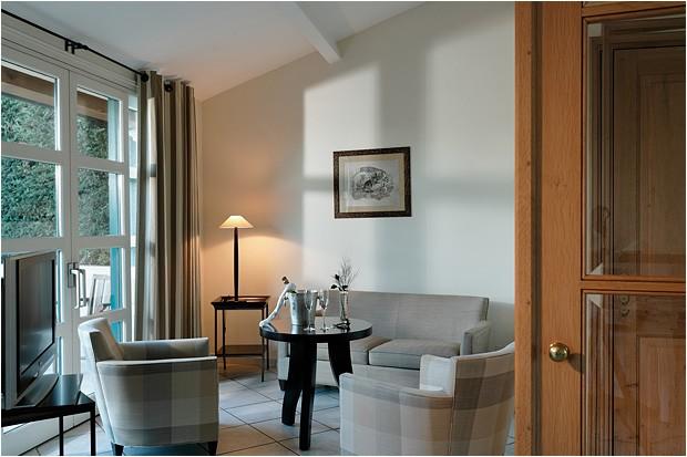 Hostellerie La Magnaneraie salotto