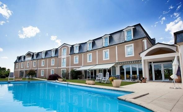 Alysson hotel - swimming pool