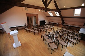Castillo de Roche-sur-Linotte - Sala de reuniones