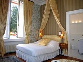 Camera padronale dell'hotel