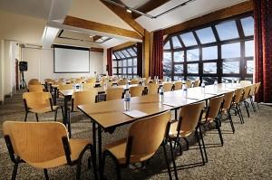 Hotel Les Bruyeres - sala de reunião