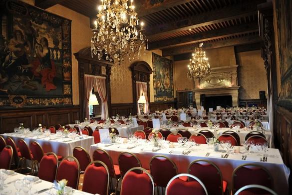 Coudrée castle - reception room