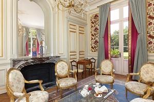Petit Salon - Chateau du Breuil