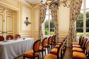 Salone centrale - Chateau du Breuil