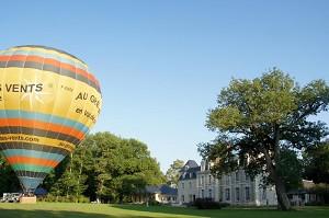 A partire Breuil pallone nel parco del castello