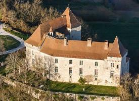 Château De Goudourville - Castle from the sky