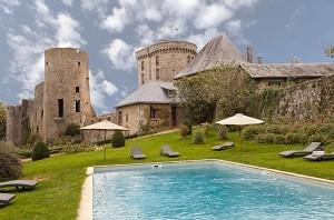 Château de La Flocellière - piscina