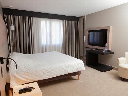 Hotel restaurante spa le rabelais - habitación