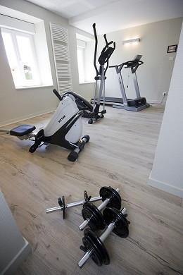 Hotel restaurant spa le rabelais - fitness room