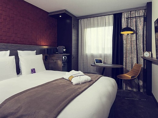 Mercure paris porte de pantin - chambre single
