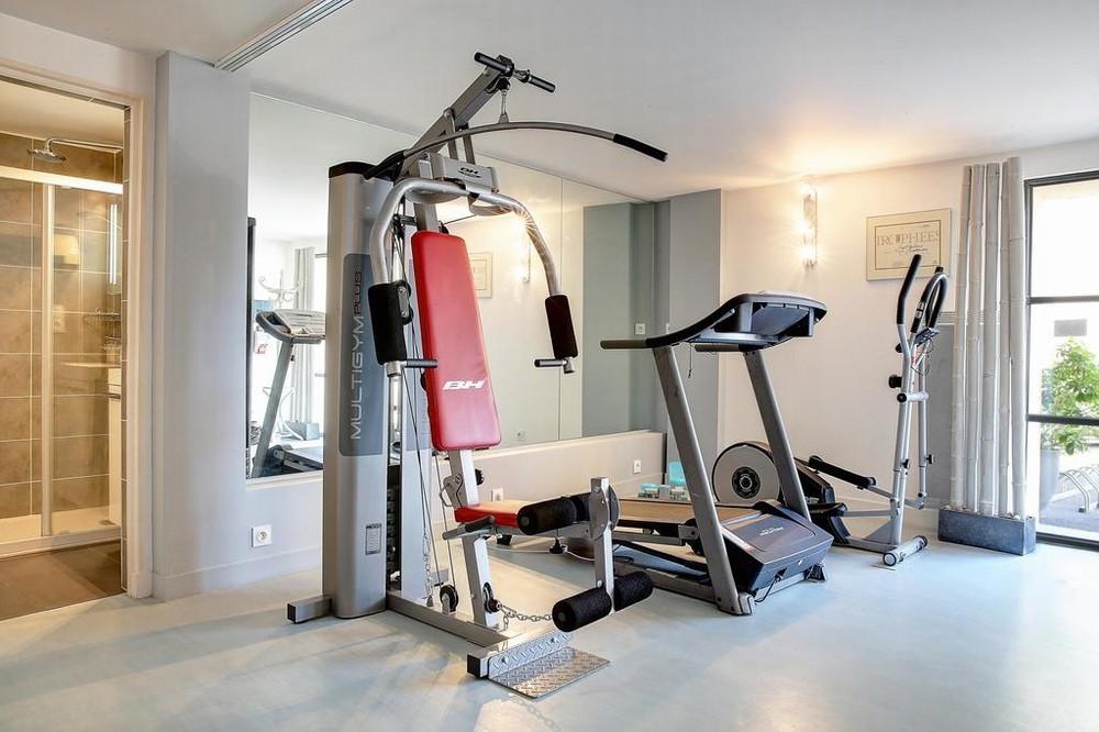 Hotelrestaurant Delphin und Priorat Spa - Fitnessbereich