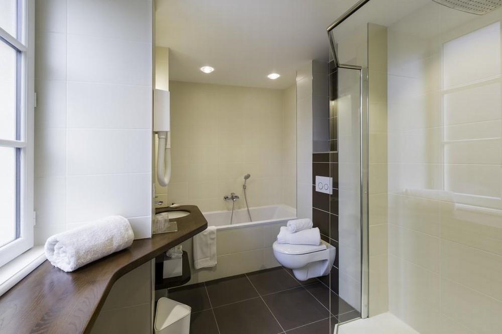 Hotelrestaurant der Delphin und das Priorat Spa - Badezimmer