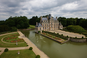 Sala de seminarios: Château de Beaumesnil -