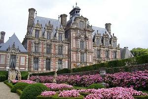 Castello di Beaumesnil fuori da 4