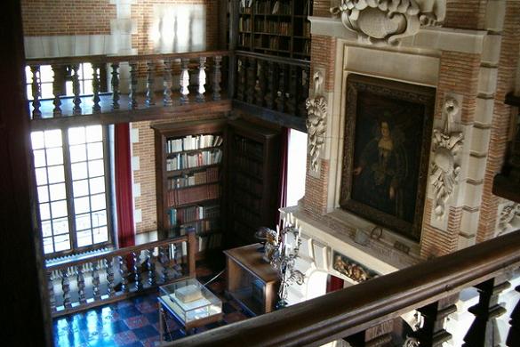 Castello di Beaumesnil delle scale