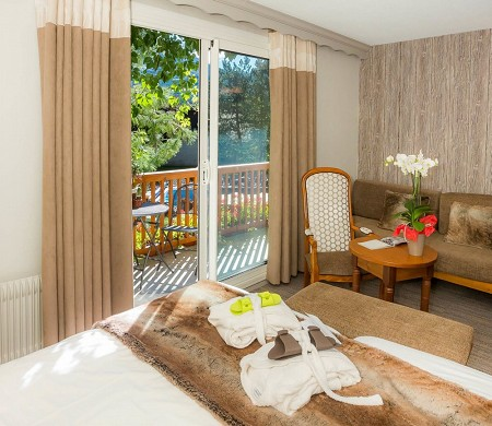Les bartavelles hotel and spa - chambre