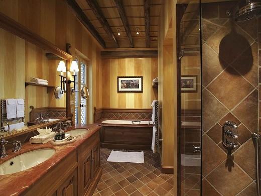 Hotel de la cité - baño