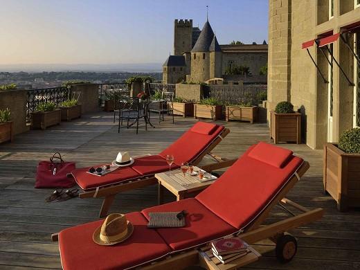 Hotel de la Cité - Terraza