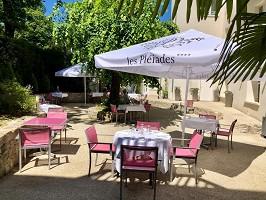 Restaurante Les Pléiades Hotel and Spa - Terraza