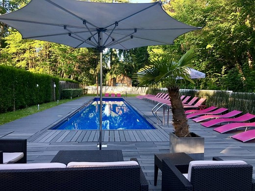 Les pleiades hotel and spa restaurant - swimming pool