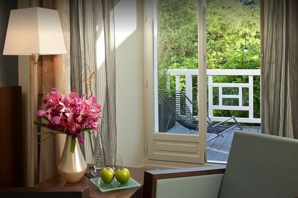 Restaurante les pleiades hotel and spa - ambiente