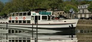 città barca esterna Melun