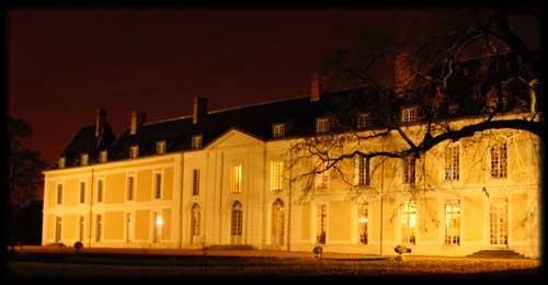 Castillo de Brou - de noche