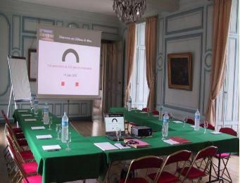 Château de brou - sala de reuniones