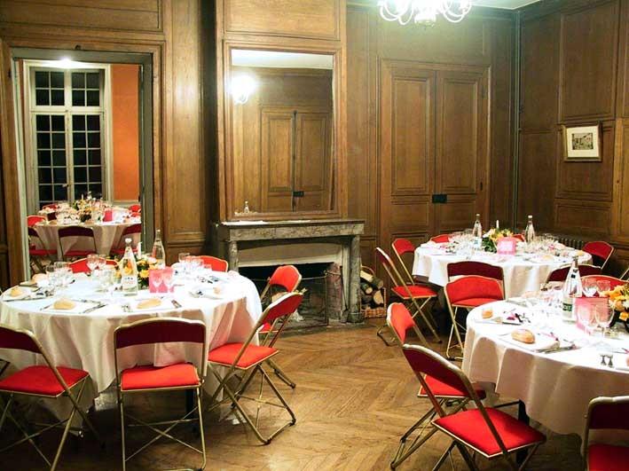 Château de brou - sala de recepción