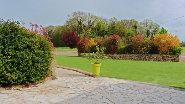 Farm Auxonnettes - Garten