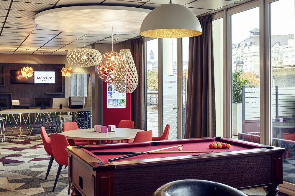 Mercure marne la vallee bussy saint georges - lobby réception