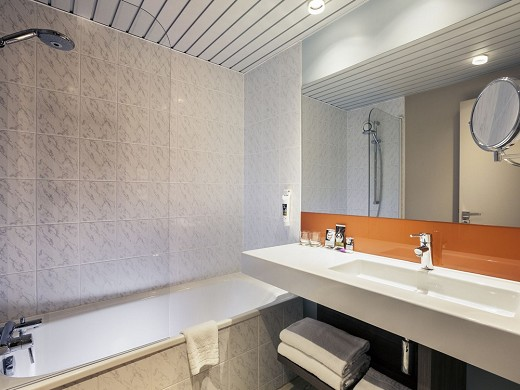 Mercure Marne Valley Bussy Saint Georges - bagno