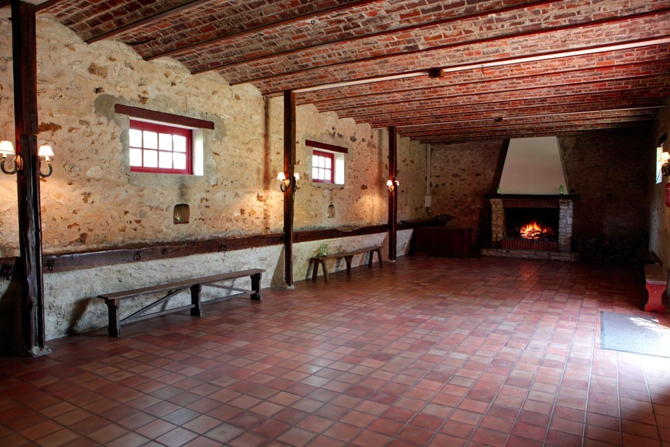 Velannes Bauernhof - Empfangsraum