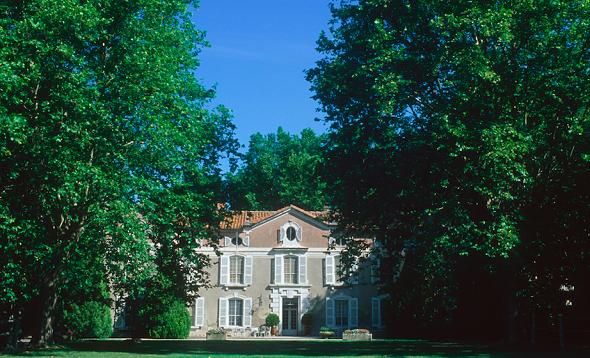 Château de vergières - außen