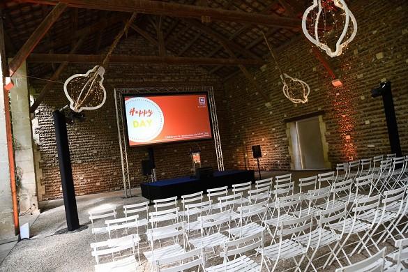 Château de vergières - sala conferenze