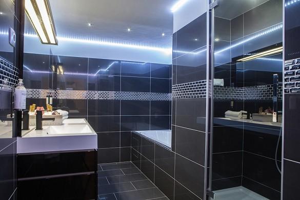 Hôtel de France Aix-en-Provence - Provencal bathroom