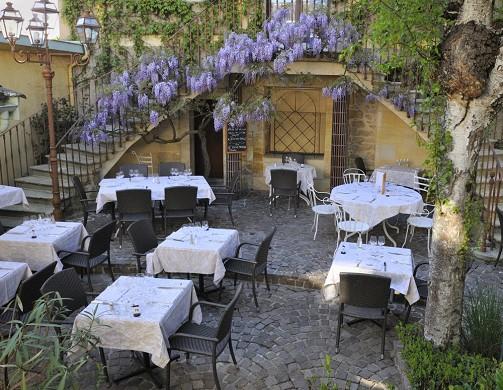 El chalet lírico - terraza
