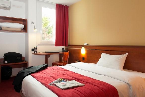 Brit hôtel bordeaux aéroport le soretel - chambre confort