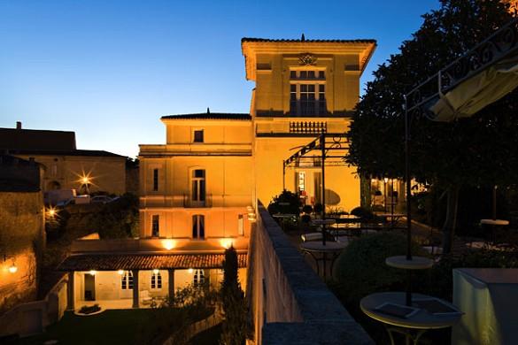 Hostellerie Saint Emilion placer fuera
