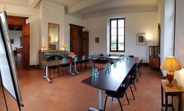Pontié castle - sala riunioni