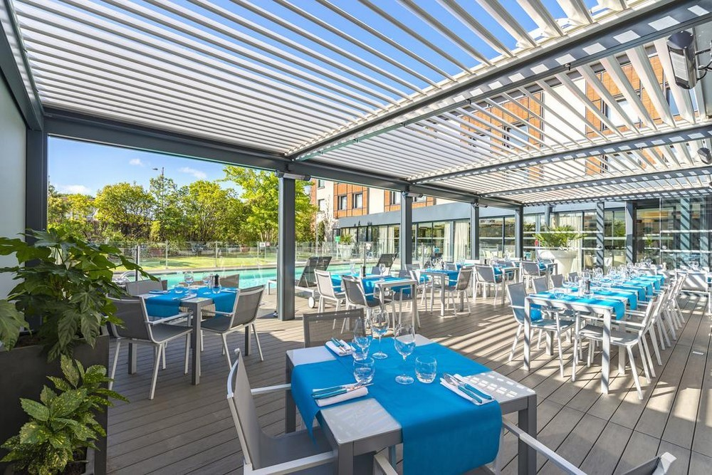 Holiday inn toulouse airport - terrace