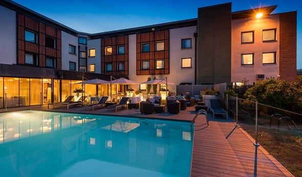 Holiday inn toulouse airport - hotel para días de estudio y seminarios residenciales en toulouse