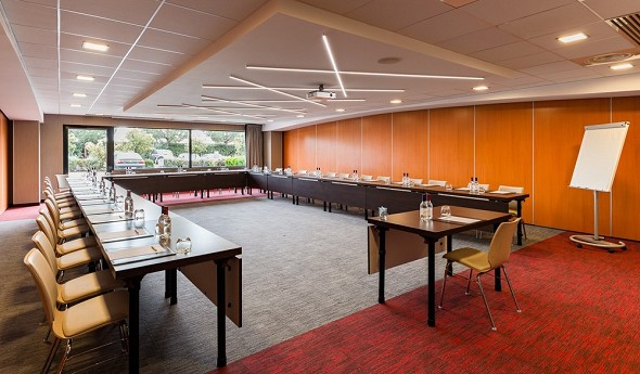 Holiday inn toulouse airport - sala de seminarios en u