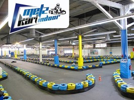 Metz Kart Indoor - Shooting team-building Metz