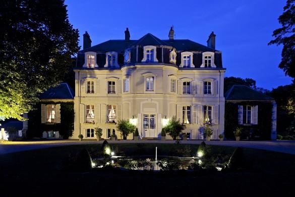 Hotel Chateau clery Najeti night