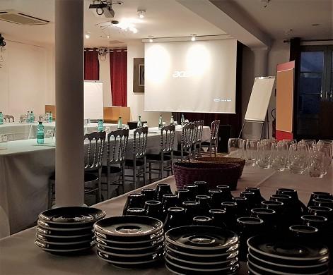 Châtellerie de schoebeque - sala de seminarios