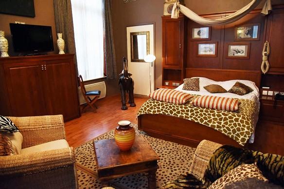 Châtellerie de schoebeque - city africa room