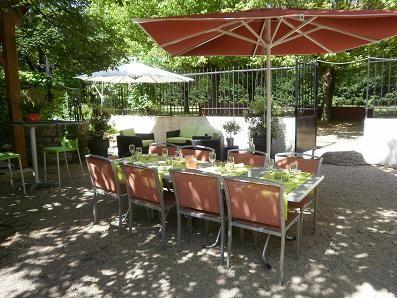 Restaurant le jardin gourmand salle s minaire lyon 69 for Le jardin gourmand lyon